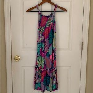 Girls Adjustable Strap Maxi Dress Size 7/8